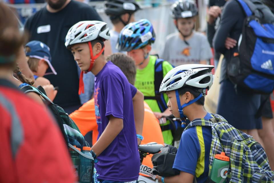 Zachary and Elijah Youth and Junior National Championships Transition Check in